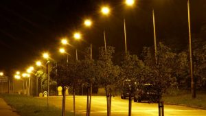 Broken streetlights are a Public safety issue